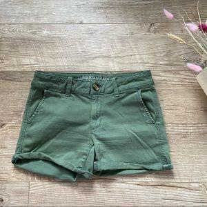 American Eagle Midi Shorts size 2